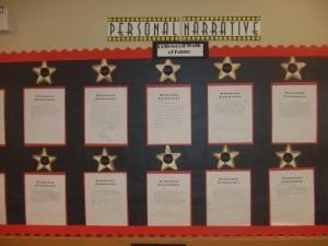 Hollywood Theme Bulletin Board
