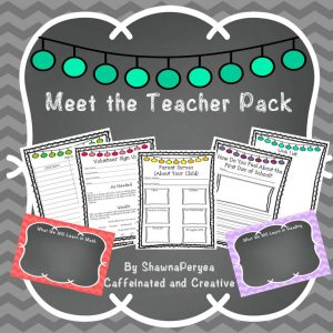 Meet the Teacher Bundle