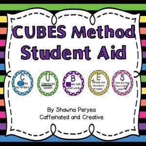 Cube Method Student Aid