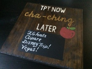 TPT Wood Sign