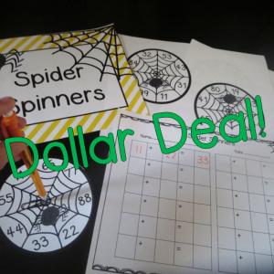 Spider Spinner Center Game