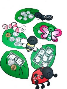 Bugs and Bill is a center game for students to practice matching dollar values to pictures of coins and bills. Perfect for spring time!