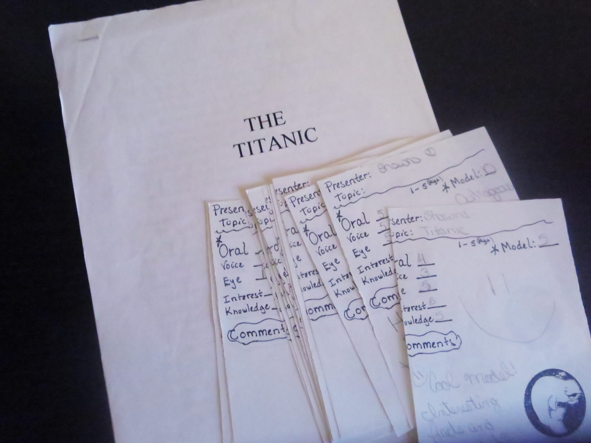 sinking of the titanic research paper This unit plan has students act as journalists and write a news story about the sinking of the titanic on april 15, 1912 teachers teachers home lessons and ideas  extra extra titanic sinks  students research and write a newspaper article about the sinking of the titanic.