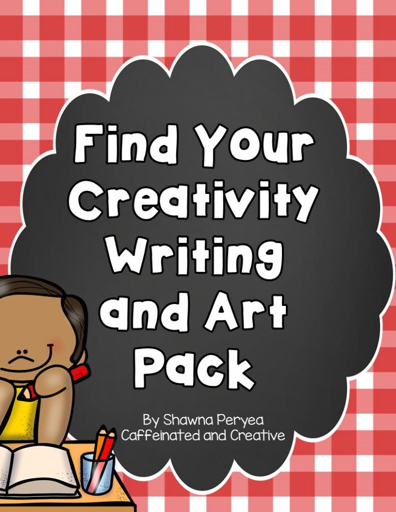 Find Your Creativity Writing and Art Pack