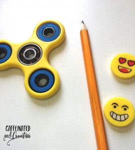 DIY pencil fidget topper.