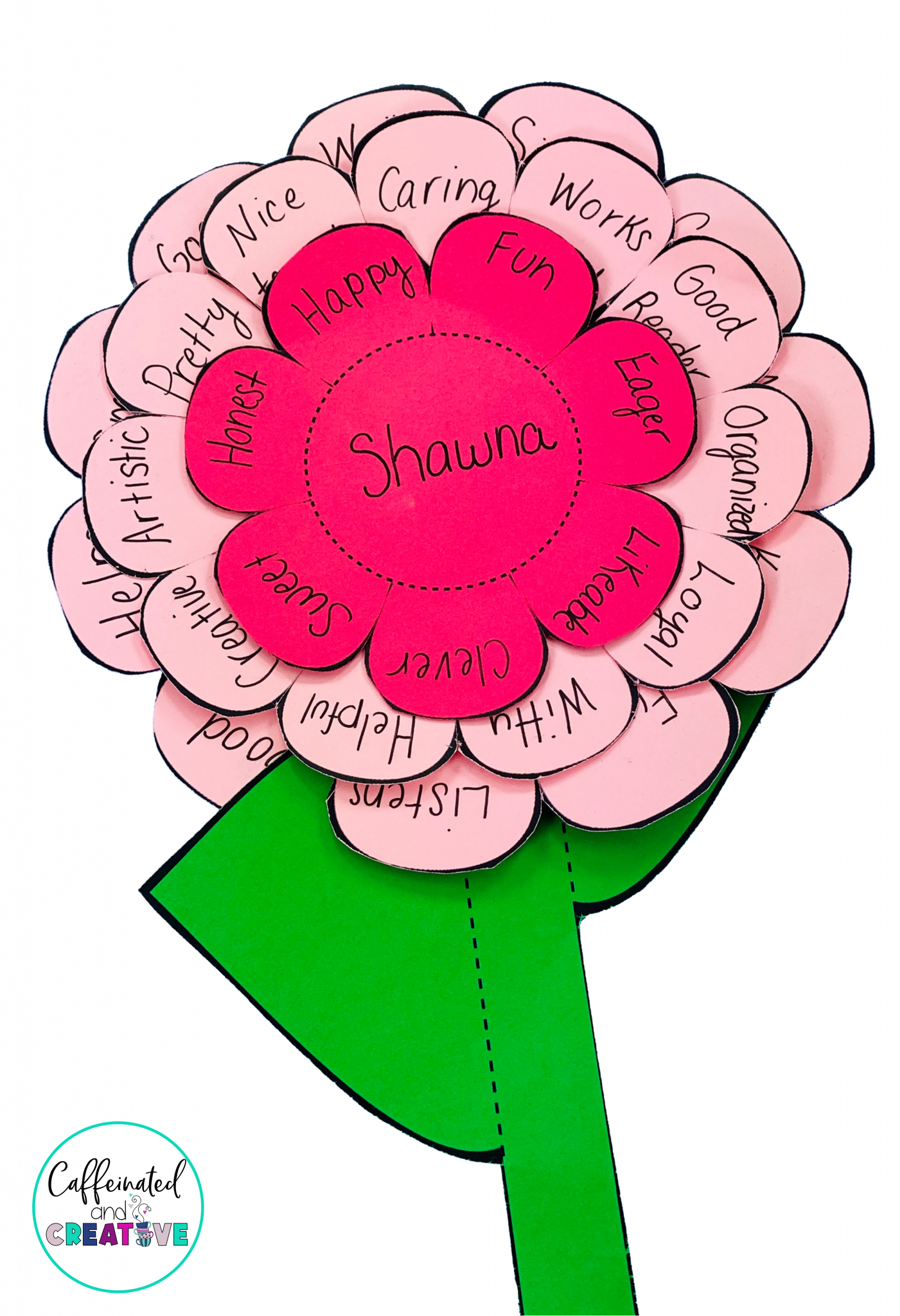 Have your students write compliments to each other with this compliment flower. This is part of a Chrysanthemum themed unit. Perfect for back to school or anytime of the year!