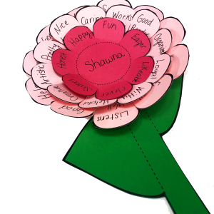 Teach students how to give compliments with the compliment flower. Perfect for Chrysanthemum units.