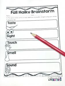 Brainstorming fall haiku!