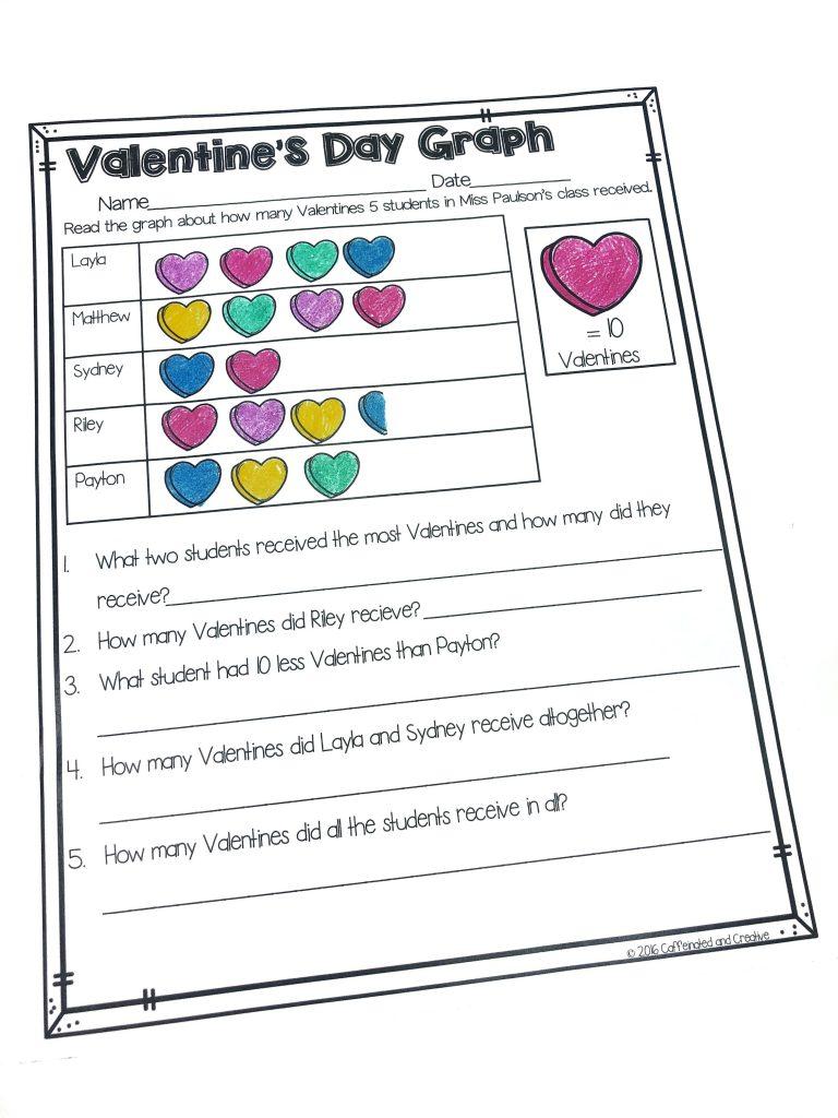 Valentine's Day Graph from Valentine's Day Mini Unit