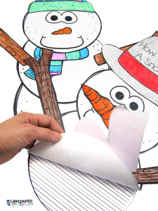 Snowman Writing is a fun way to display your kiddos writing during the winter months! In this product are writing papers to go along with a snowman. If you are looking for more of an interactive writing activity, this is ALSO included! Directions are included on how to create and interactive snowman.