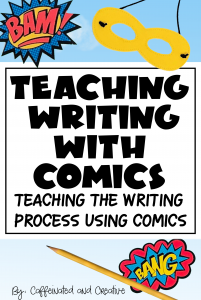 Learn how using comics and graphic novels can transform the way your students learn! Turn reluctant writers into writers in an engaging way!
