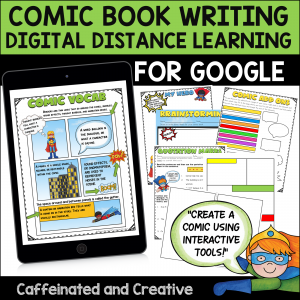 Printable and Digital Comic Book Writing Bundle