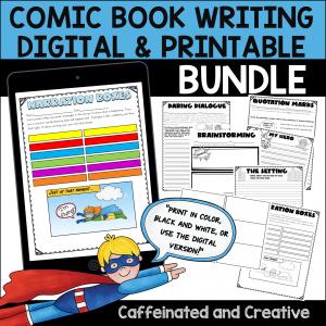 Digital Comic Book Writing