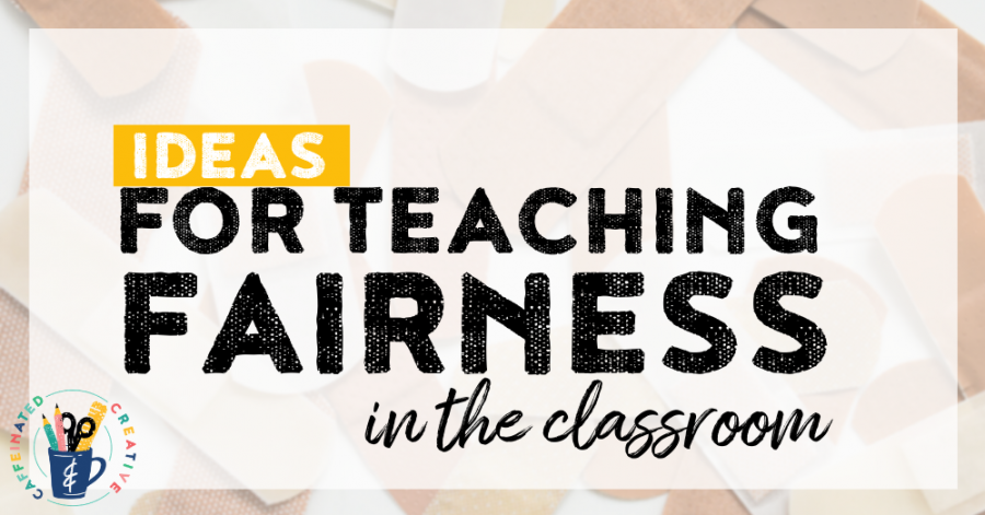 An easy lesson on how to teach fairness in the classroom.