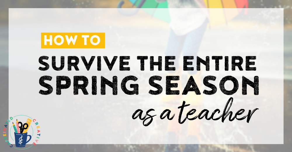 Are you in need of ideas for the entire spring season and spring holidays!? Read on for tips, ideas, and activities for spring! Also cover St. Patrick's Day, Earth Day, Easter, AND Cinco de Mayo! Perfect for the second grade teacher wanting tons of easy or no prep math and ELA activities!