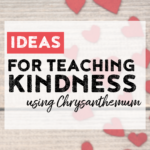 Ideas for teaching a lesson in kindness using the book Chrysanthemum. Includes activities for name appreciation, as well as math and ELA Chrysanthemum themed activities!