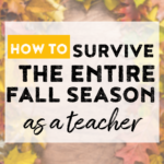 Get tons of ideas, books, resources, and much more to survive Halloween, Thanksgiving and the entire fall season!