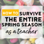 Are you in need of ideas for the entire spring season!? Read on for tips, ideas, and activities for spring! Also cover St. Patrick's Day, Earth Day, Easter, AND Cinco de Mayo! Perfect for the second-grade teacher wanting tons of easy or no prep math and ELA activities!
